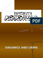 Daviance and Crime