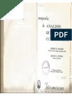 m LIBRO - Compendio de Análisis Químico Cuantitativo - 1971 - Robert Fischer - 1 Edición