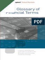 Glossary 2013 of Finance