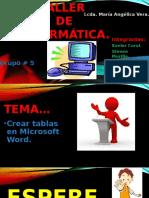 Taller de Informática.