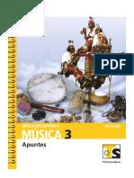 Ed. artística.Música.3er grado (Telesecundaria) México