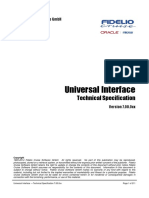 Universal Interface - Technical Specification 7.00.0xx (1)