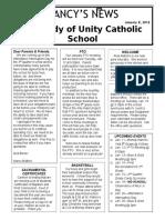 january 8 2016 newsletter