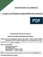 Aula Prática 2AeB Texturas Vulcanicas