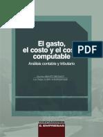 09 - El Gasto, El Costo y Costo Computable (1)