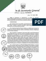 Contrato CAS Intervencion Pedagogica RSG N° 026-2016 MINEDU_INOHA