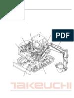 Parts Manual Tb070 Pl1-101z5