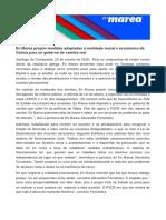 Comunicado de En Marea sobre o seu eventual apoio a um governo espanhol liderado polo PSOE