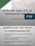 La Generación del 98. Propuesta didáctica
