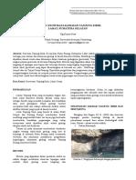 Potensi Geowisata Kawasan Pulau Pinang, Lahat, Sumatera Selatan