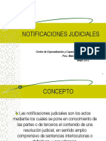 notificaciones judiciales 2013