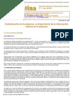 Arribas Urrutia, Amaia Arribas Comunicación en la empresa. La importancia de la info interna en la empresa.pdf