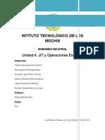 JIT y Operaciones Esbeltas