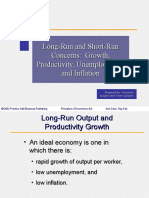 Ch07 Long-Run and Short-Run Concerns Growth, Productivity, Unemployment, And Inflation