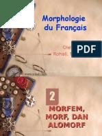 Morphologie Du Français-bab2