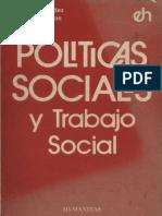 Politicas Sociales y Trabajo Social