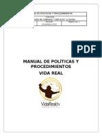 Manual de Políticas y Procedimientos Vida Real