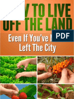 How to Live Off the Land