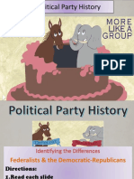 political party reading overview