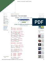 Soda Stereo - De Música Ligera - Acordes D Canciones