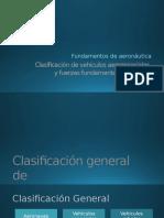 Clasificación de Vehículos Aeroespaciales y Fuerzas Fundamentales Del Vuelo