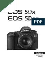 EOS 5DS EOS 5DS R Instruction Manual En