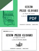 100 Pezzo Classici Per Organo_ Carrara