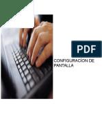 Configuracion de Pantalla