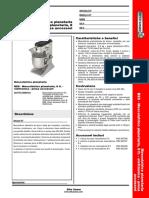 Planetary Mixer - 8 Lt. - Electronic With Hub_English_603756_Italian