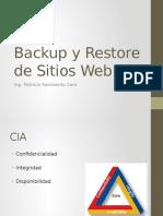 Backup y Restore de Sitios Web