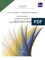 COSO Internal Control - Integrated Framework