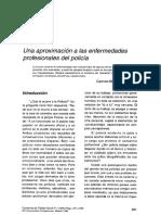 Una Aproximación a Las Enfermedades Policia