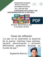 presentación de inclusión definitiva