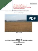 1 Field Report Lanpooling in Chaurjahari