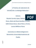 Manual de Prácticas de Laboratorio de Biología Molecular I (2)
