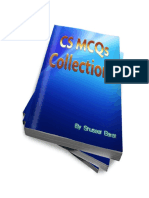 Collections of CS MCQs