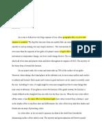 ocean definition essay