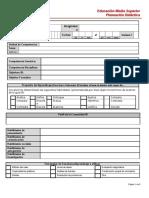 Formato Planeación Didáctica P2016