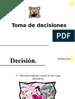 Toma de Decisiones 12332