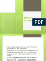 Breast Sonography