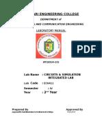 CSI Lab Manual