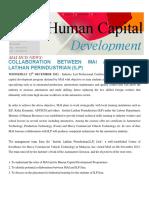 Issue 42 - Collaboration Between MAI And Institut Latihan Perindustrian (ILP).pdf