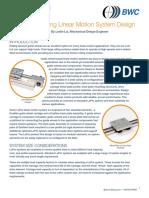 Accelerating Linear Motion System Design 07 2014