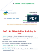 SAP ISU FICA Online Training Classes