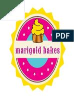 Marigold Bakes USA, Brand Identity Design