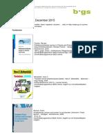 Neue E-Books im Dezember 2015