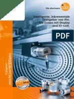 Ifm Inkrementale Drehgeber Display IO-Link DE