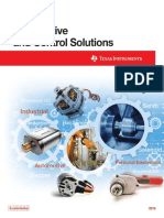Motor Drive and Control Solutions