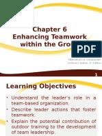 Enhancing teamwork