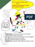 Carnevale_maschere Per Bambini